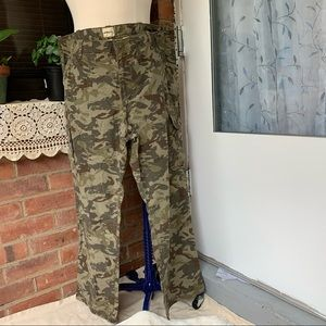 Bass &Co Pants military Style Cargo Size 38x30